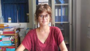 Marie, voluntaria de Coconut Water en Camboya