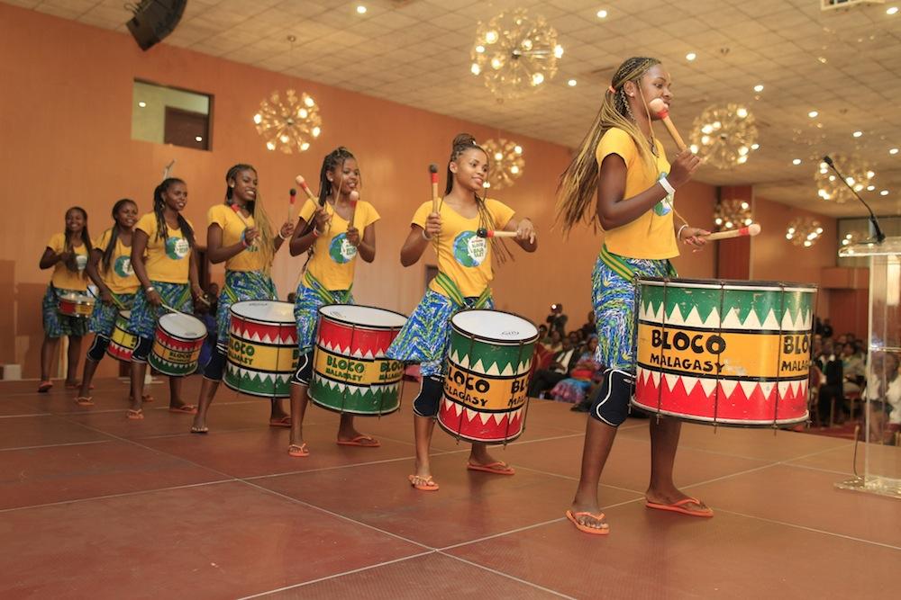 Les « Tambours pour une éducation pour tous » de la Bloco Malagasy mobilisent l'Afrique de l'Ouest