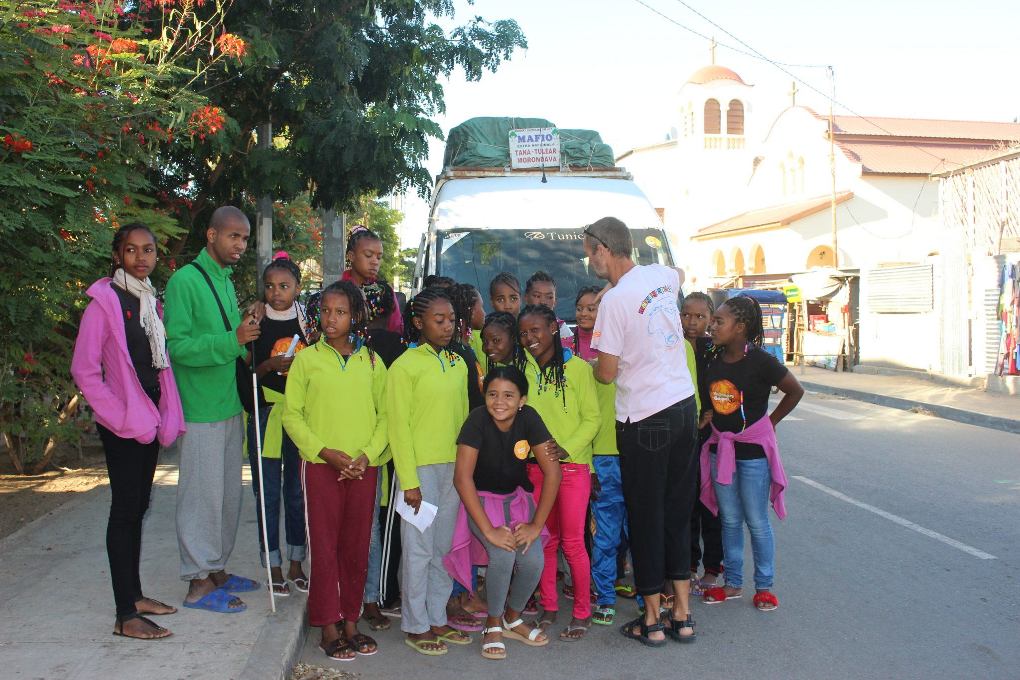 Départ de la Malagasy pour l'Espagne