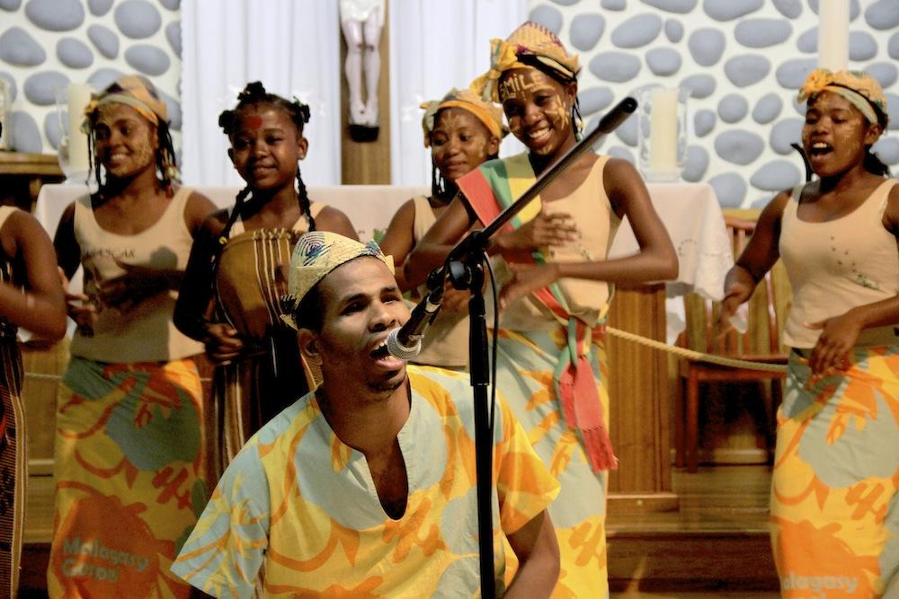 La malagasy gospel en route vers l'Espagne