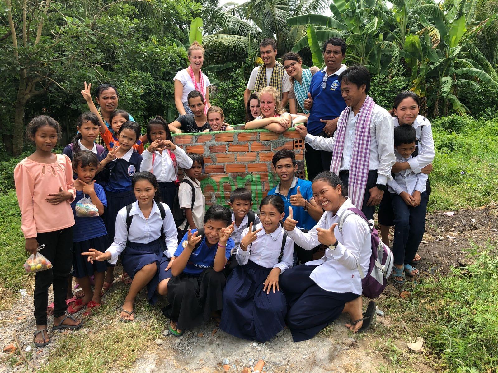 Cet été, des étudiants ont soutenu nos projets de Madagascar jusqu'au Cambodge