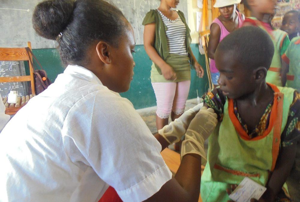 Epidémie de rougeole à Madagascar