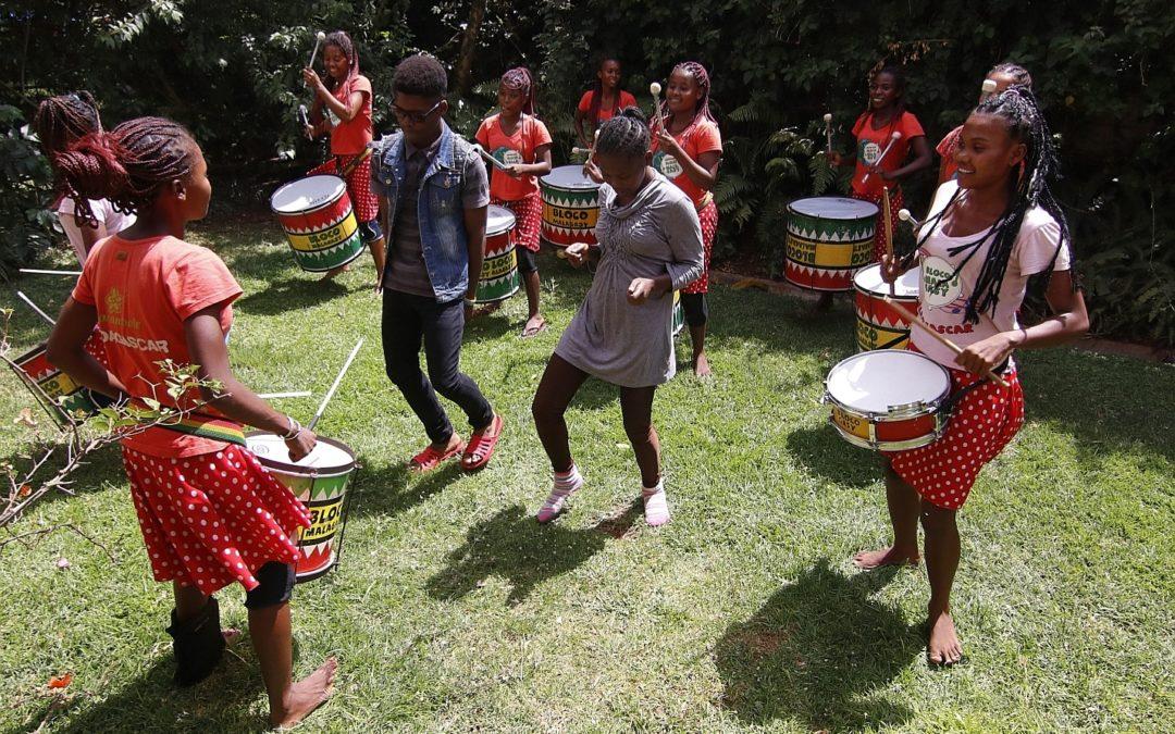 Les chants des tambours résonneront au Kenya pour les femmes et les enfants