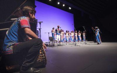 Octobre 2019 : la Malagasy Gospel chante les droits de l'Enfant en Espagne