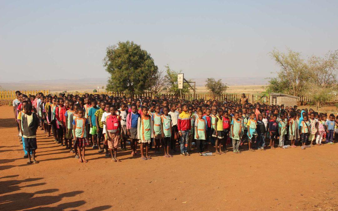 La rentrée s'est bien passée dans nos écoles à Madagascar