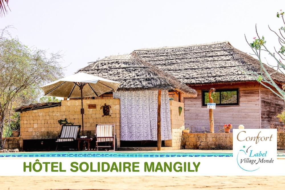L'Hôtel Solidaire Mangily reçoit la marque distinctive « Confort » du Label Village Monde en cette année internationale du tourisme durable pour le développement