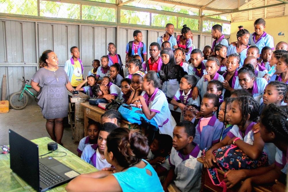 Le deuxième trimestre Namana c'est le plus amusant pour les enfants de Madagascar !