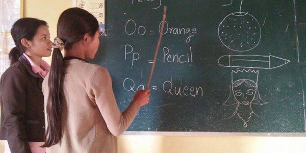 Nouveau cours d'anglais amusant à Kouk Punley !