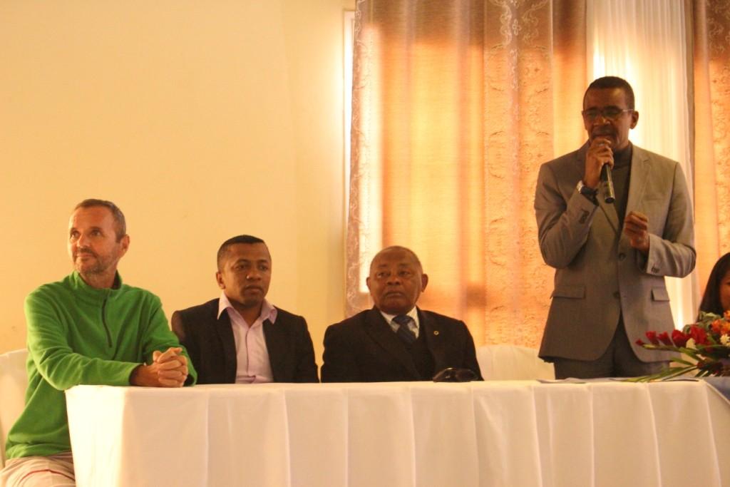 La Malagasy Gospel reçue par le Ministre malgache de la Culture