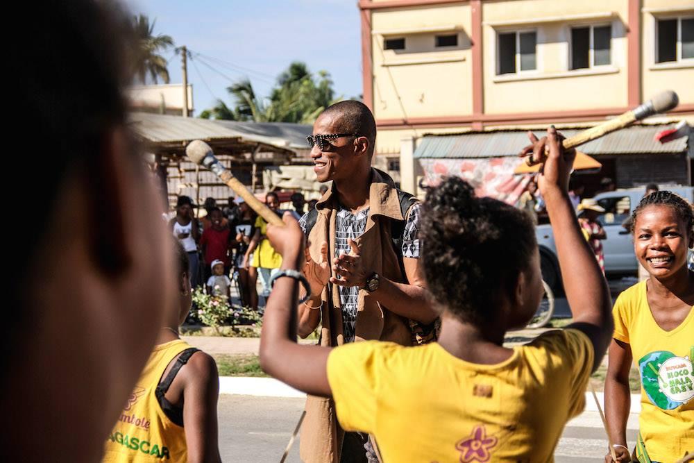 La Bloco Malagasy reçoit la visite d'un parrain