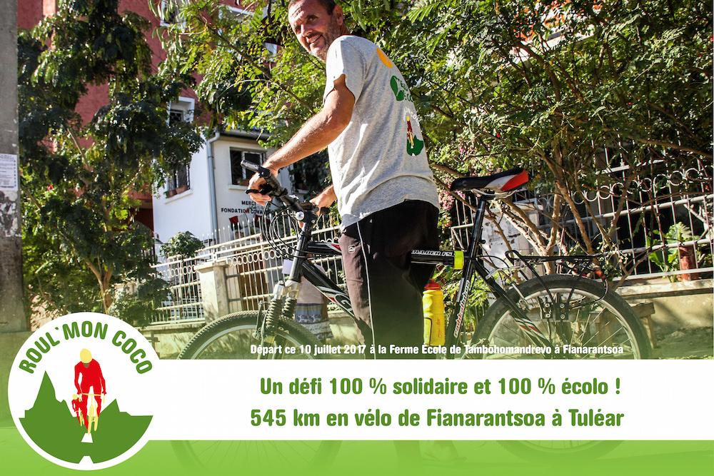 Eau de Coco à Madagascar lance un défi sportif 100 % solidaire et 100 % écolo