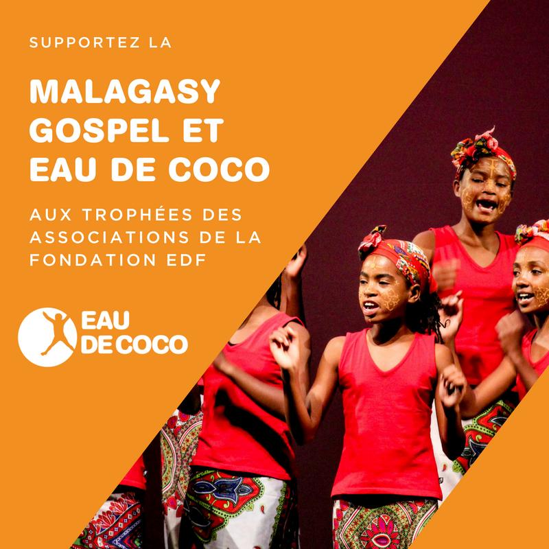 Eau de Coco aux Trophées des Associations 2017