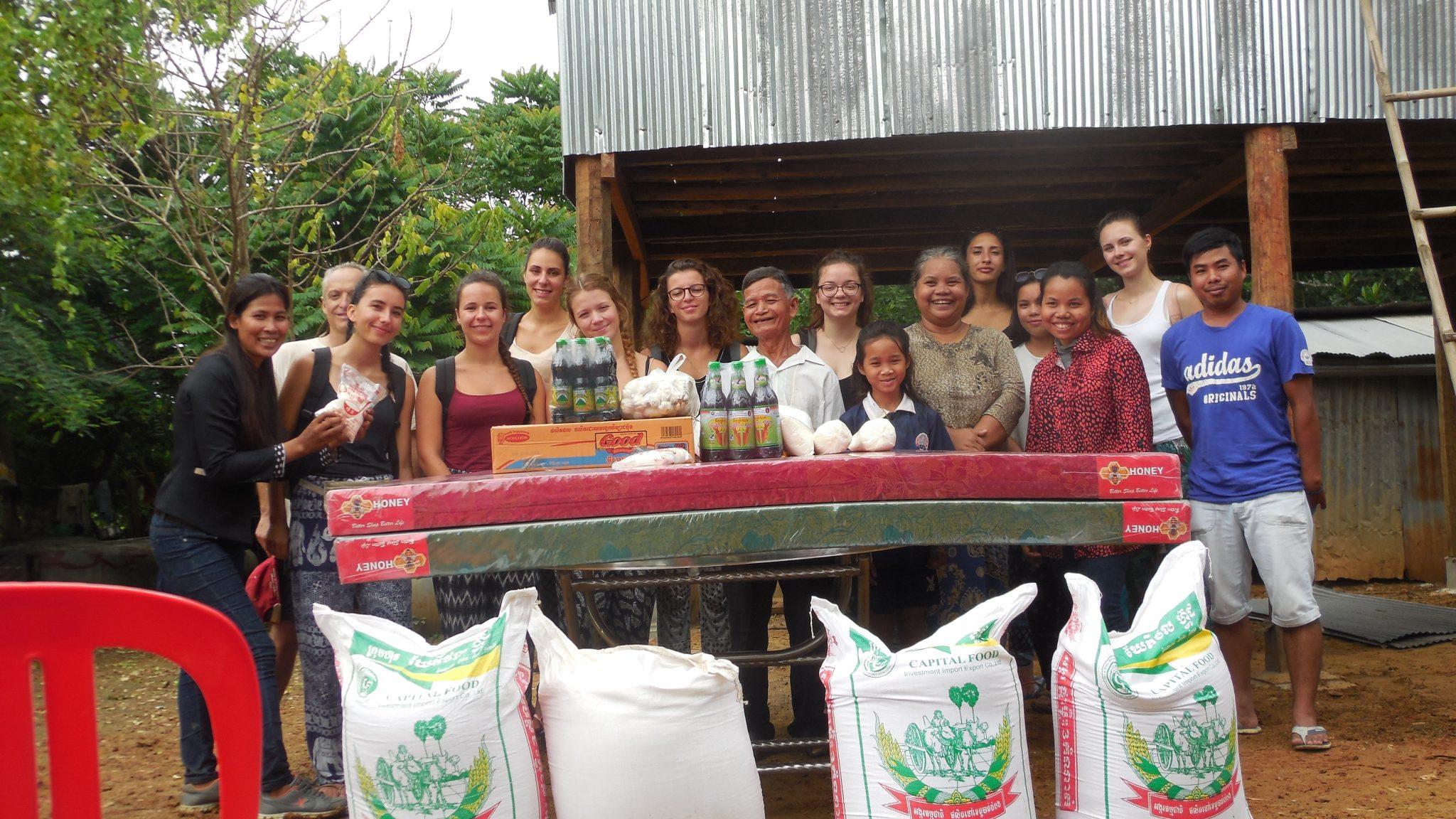 Les chantiers se sont succédés au Cambodge