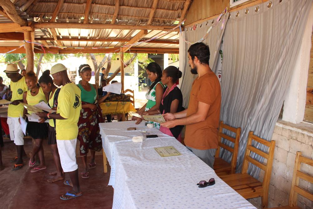 Vingt-quatre jeunes de Mangily finissent leur formation en agriculture, élevage et écotourisme