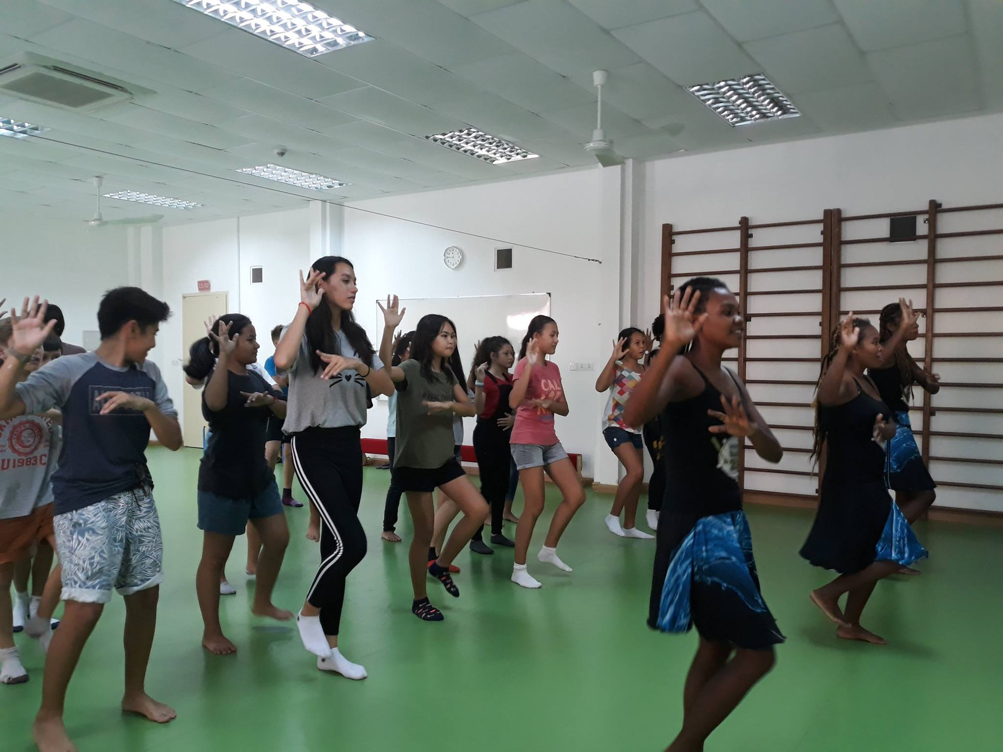 Séjour de la Bloco Malagasy en Thaïlande et au Cambodge