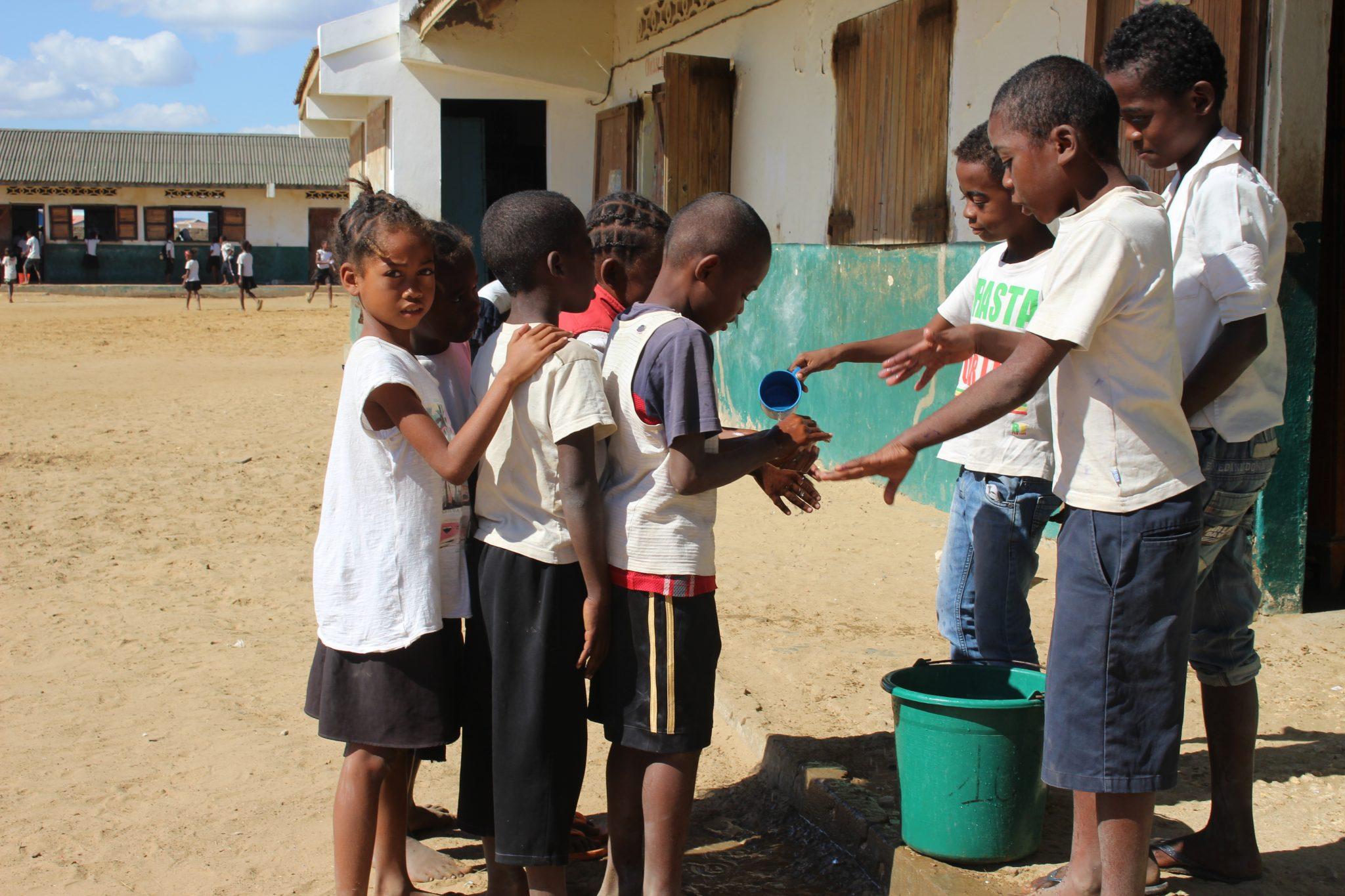 La mobilisation sur le lavage des mains
