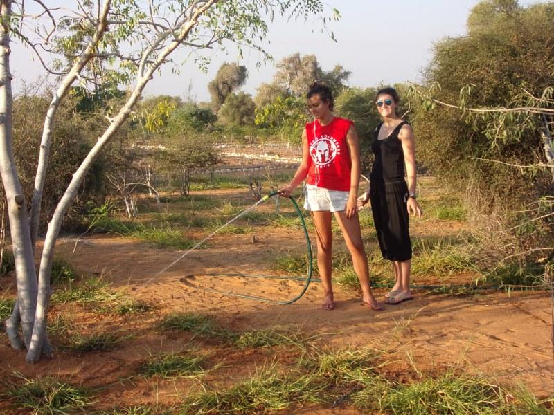Les volontaires à Madagascar