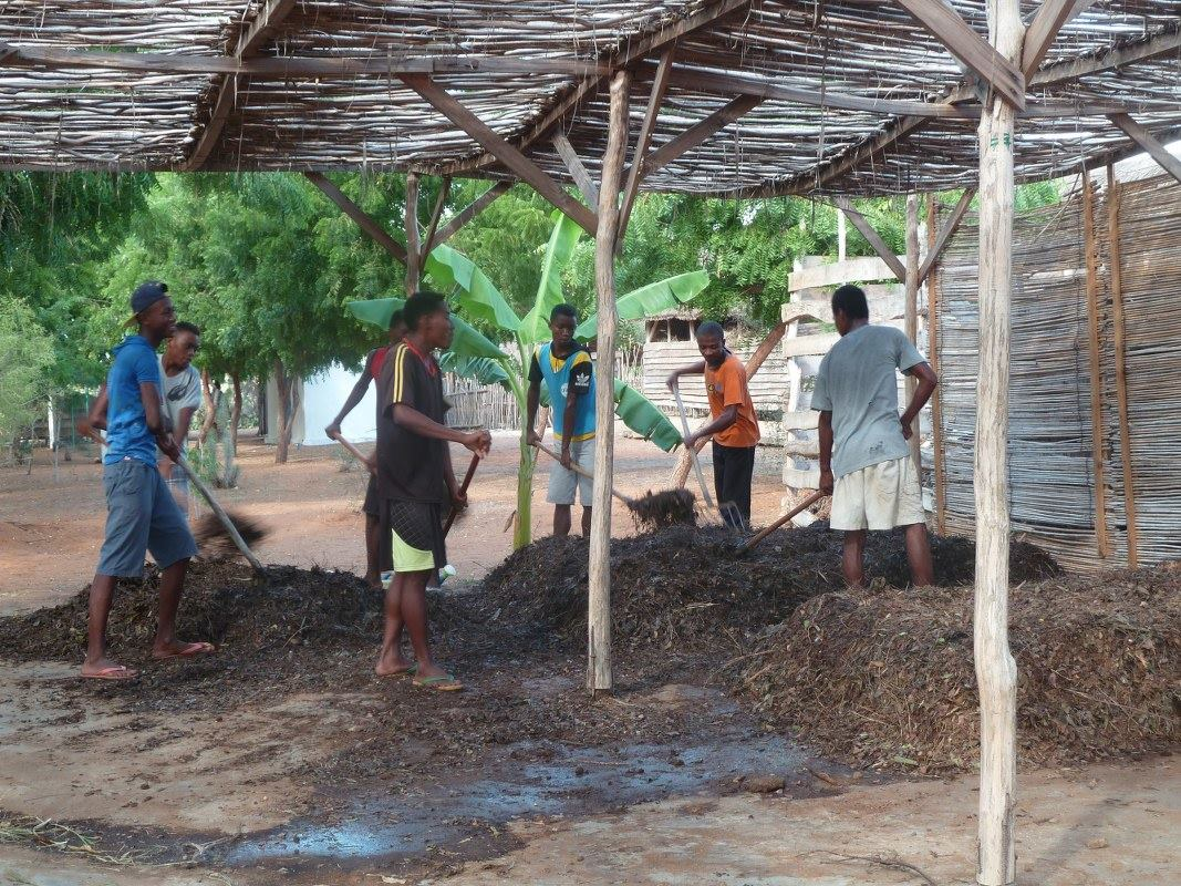 Production de compost