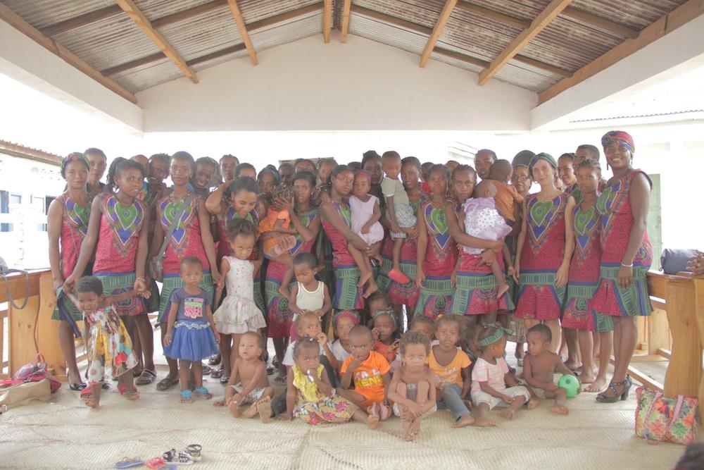 Deux actions au profit des bénéficiaires  pour le volet Santé et Nutrition
