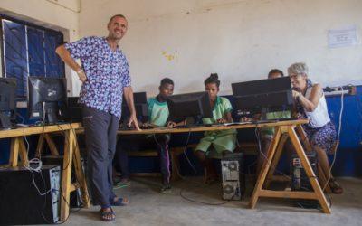 Le collège des Salines à l'heure informatique