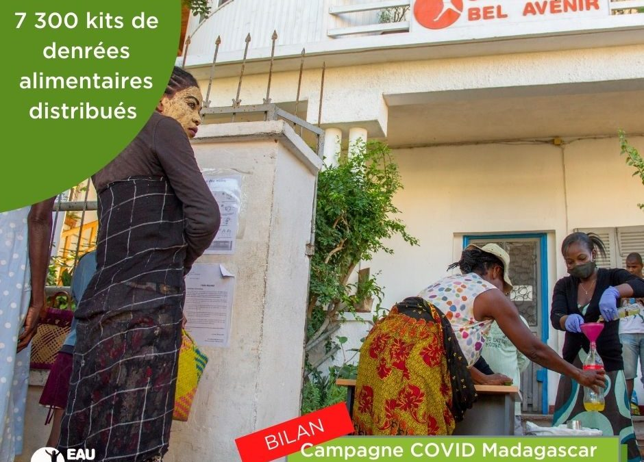 Bilan du PLAN D'URGENCE COVID-19 à Madagascar